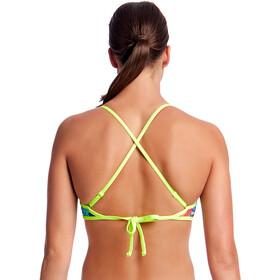 Funkita Cross Back Tie Bikini Top Damen layer cake